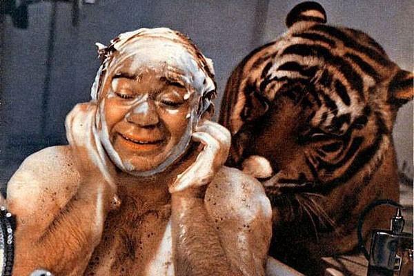 Цензоры не сразу допустили к показу сцену в ванне из «Полосатого рейса»
