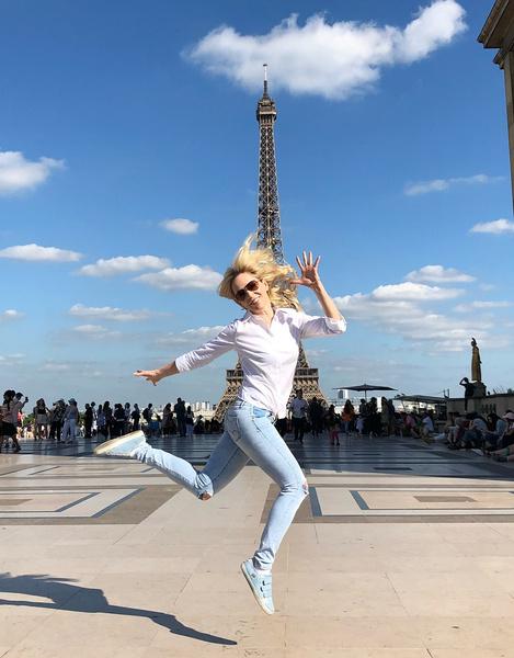 Ирина живет в Париже