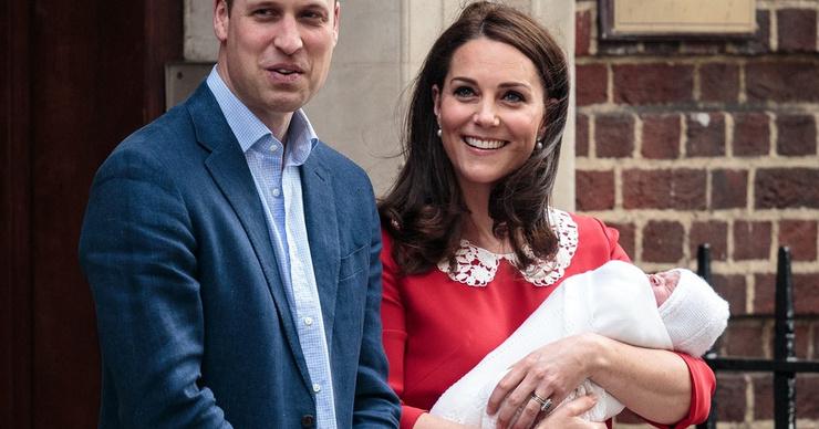 Кейт Миддлтон показала новорожденного сына