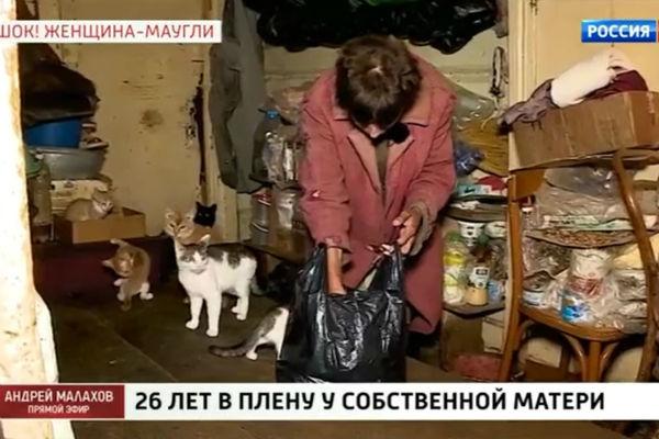 Надежда питается тем же, чем и ее кошки