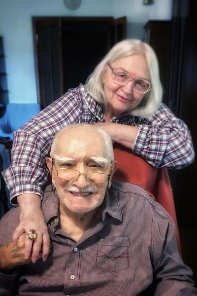 Армен Борисович с женой