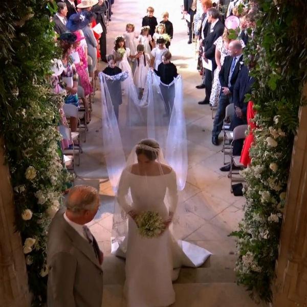 Меган выбрала сказочный наряд для свадьбы