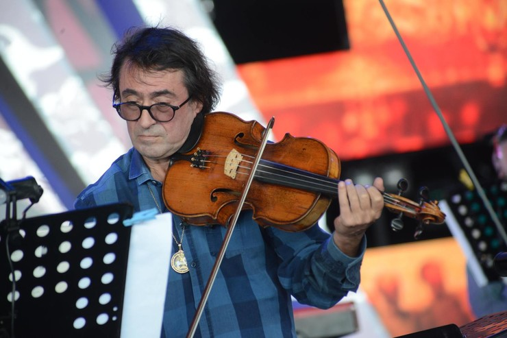 Артисты выступали в Салехарде
