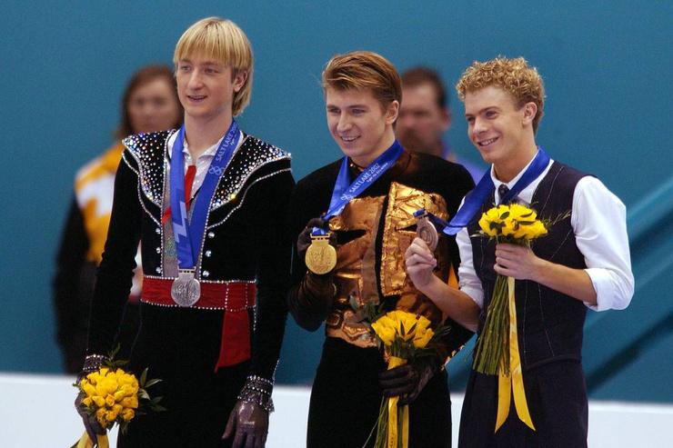 Евгений так и не смог победить Алексея на льду