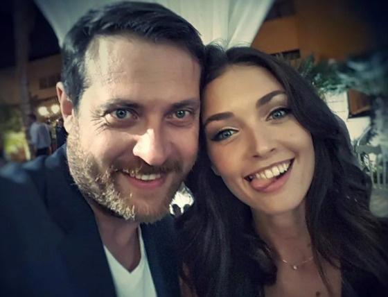 Кирилл с дочерью Анастасией от первого брака