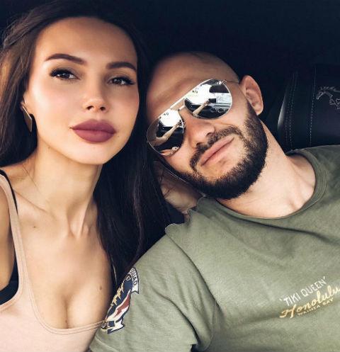 Оксана Самойлова с Джиганом