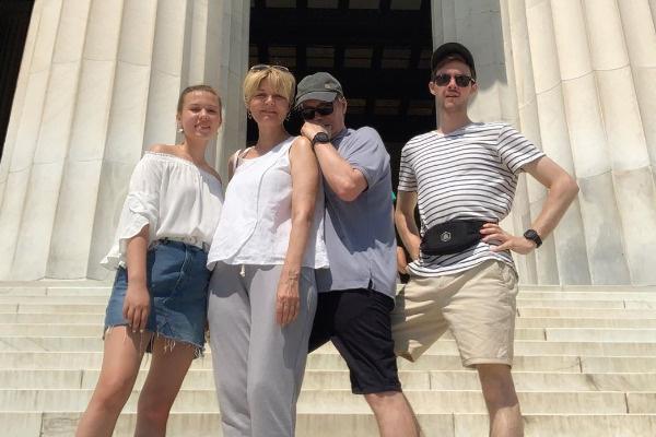 Юлия с семьей