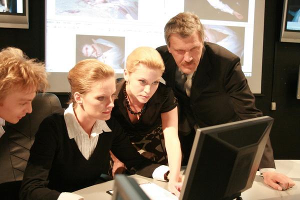 Съемки в криминальном сериале помогли Ольге Копосовой справиться с недугом