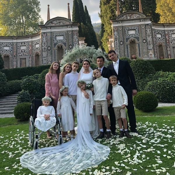 Большая семья Сергея Семака