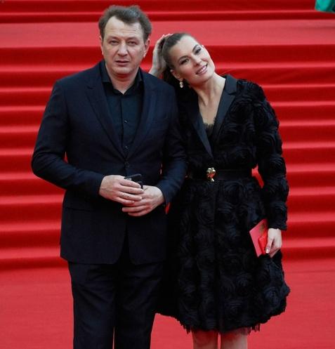 Марат Башаров с женой Елизаветой
