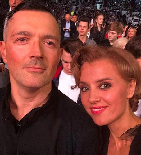 Ксения Алферова с мужем Егором Бероевым