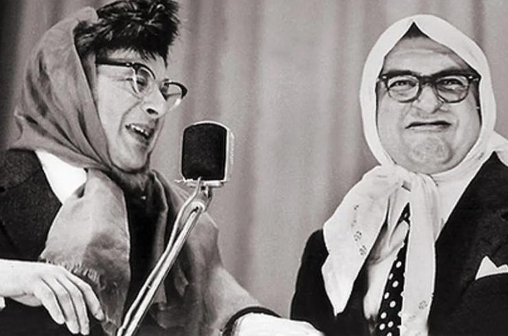 Борис Владимиров прославился как участник эстрадного дуэта «Вероника Маврикиевна и Авдотья Никитична»