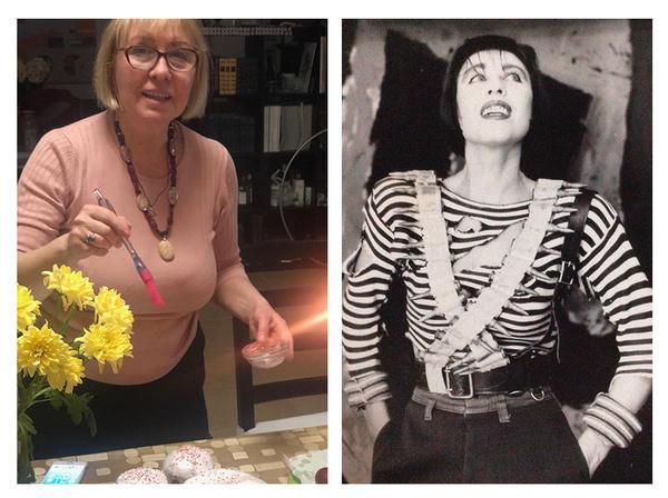 Слева — Наталья сейчас, справа — в 90-х