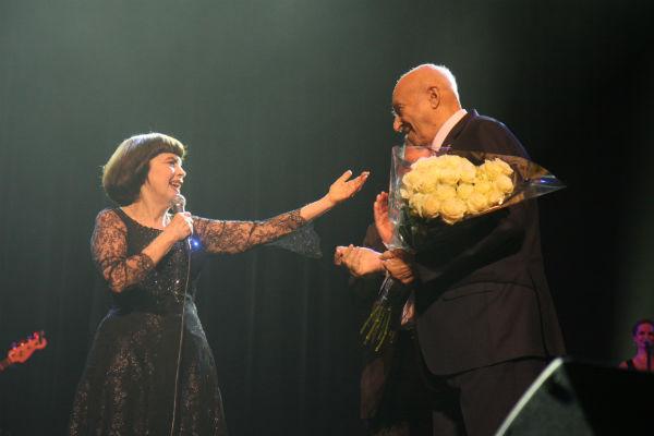 Владимир Этуш приехал в Петербург ради концерта Мирей Матье