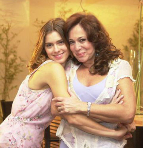Каролина Дикманн и Сюзана Виейра