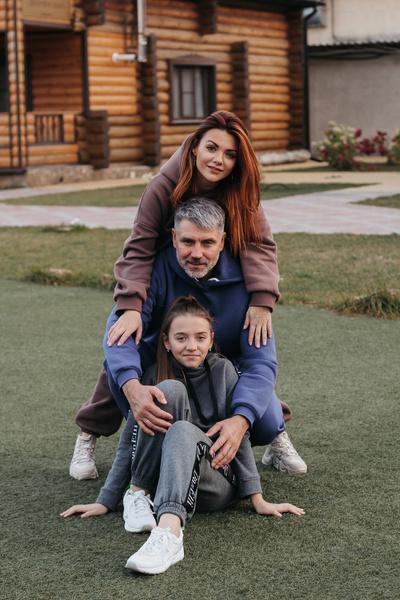 Леся с мужем Андреем в браке уже 20 лет