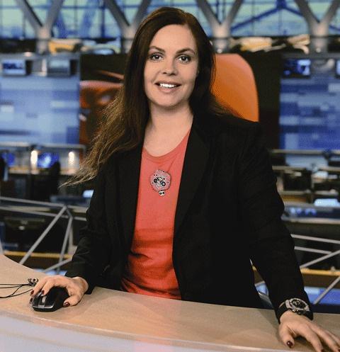 Екатерина ведет программу «Время» на «Первом канале» почти 20 лет