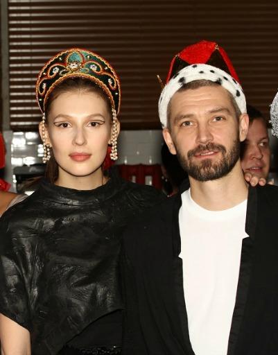 Кристовский с супругой Ольгой