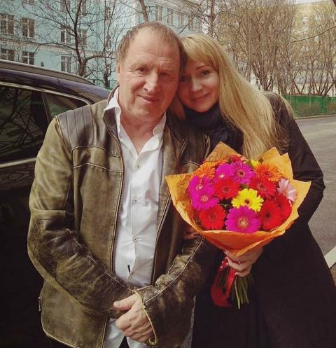 Владимир Стеклов с женой Ириной