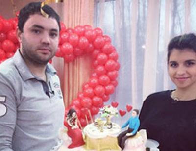 Александр и Алиана Гобозовы отметили первую годовщину свадьбы