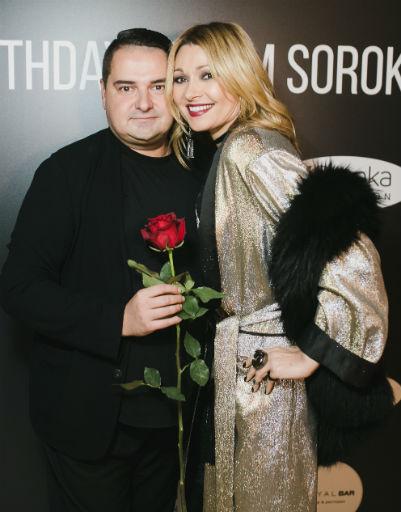 Анжелика Агурбаш пришла поздравить продюсера