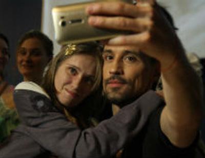 Дима Билан пообщался со зрителями своего кинодебюта