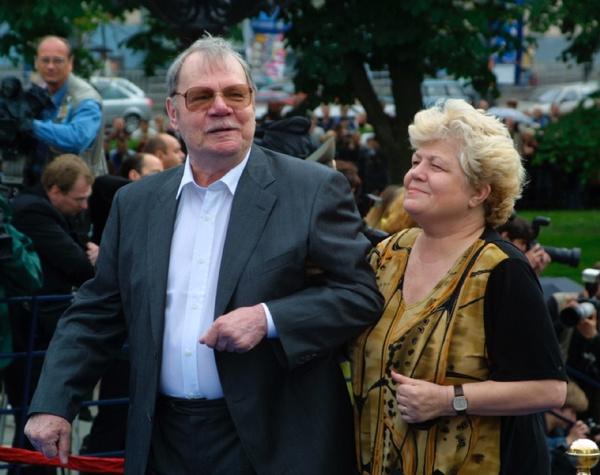 Пуговкин с женой Ириной