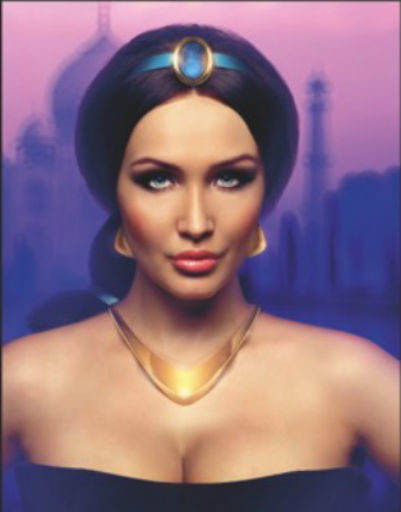 Меседа Багаудинова - принцесса Жасмин