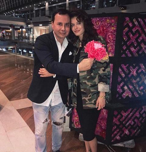 Валентин Иванов и Лиза Адаменко