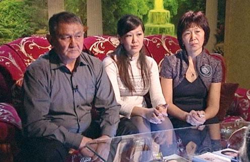 Семья Кичиковых слева направо: отец Цедын Буджаевич, одна из сестер Айса, мать Вера Бегдеевна