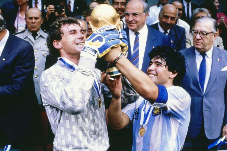 Марадона стал чемпионом мира в 1986-м