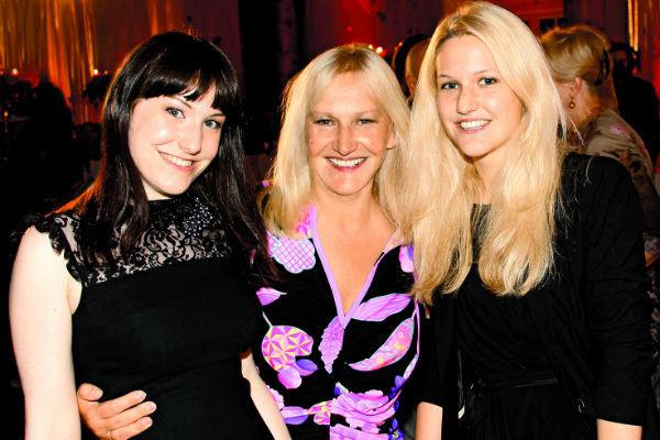 Елена Батурина и ее дочери