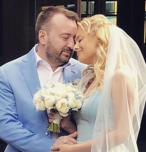 Елена Максимова с мужем