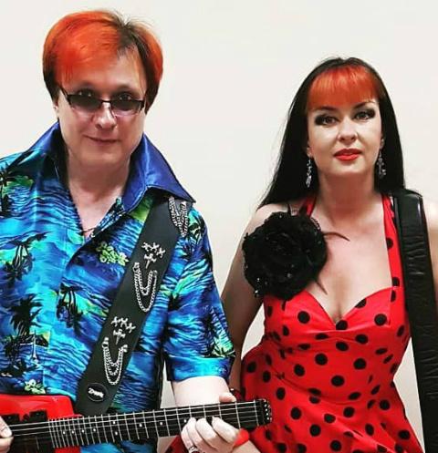 Владимир Воленко и его жена Наташа поют в одной группе