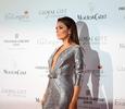Ева Лонгория занимается благотворительностью в платье Georges Hobeika