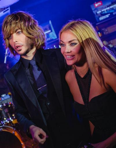 Сергей Зверев и Таня Терешина
