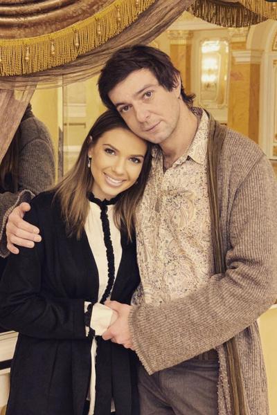 Павел с третьей супругой