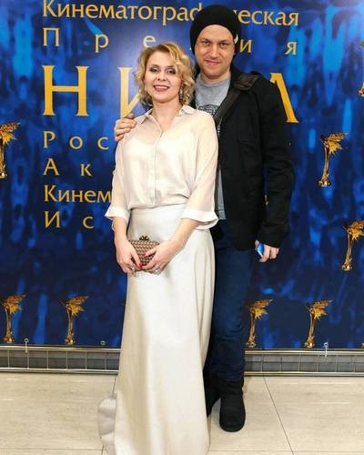 Яна Троянова с мужем Василием Сигаревым