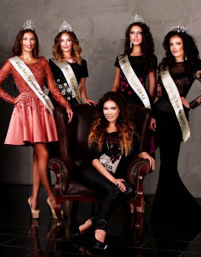 В конкурсе приняли участие первые красавицы страны, имеющие опыт работы в модельном бизнесе и на телевидении