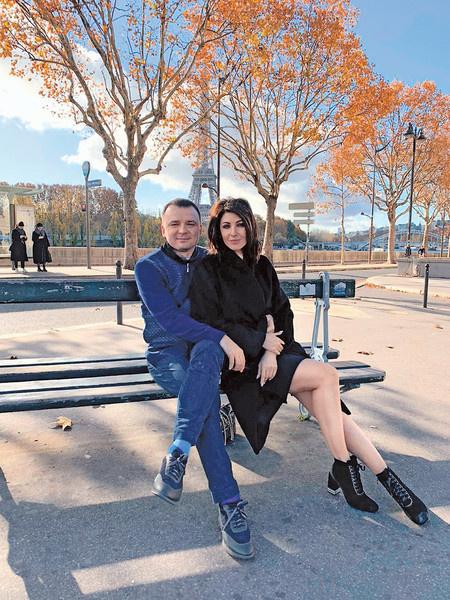 Анастасия Макеева с супругом