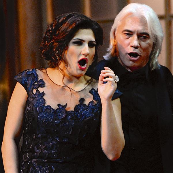 Певица Динара Алиева была для него лучшей партнершей по сцене