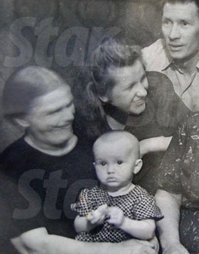 Алла встречает первый Новый, 1950 год