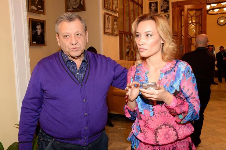 Грачевский с женой Екатериной