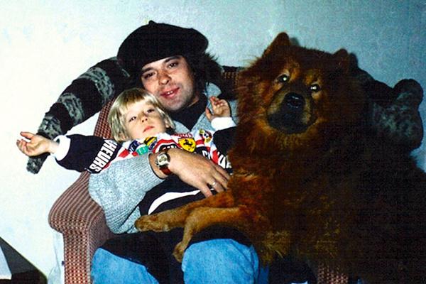 Евгений Белоусов с сыном
