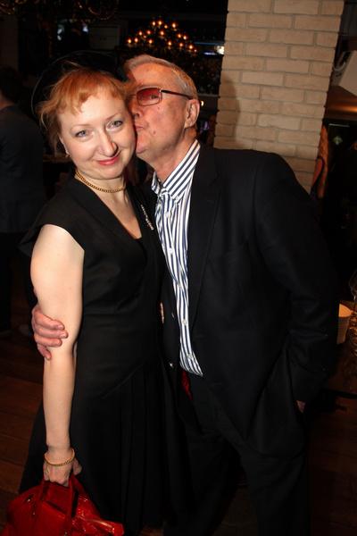 Лев Прыгунов и его вторая супруга Ольга