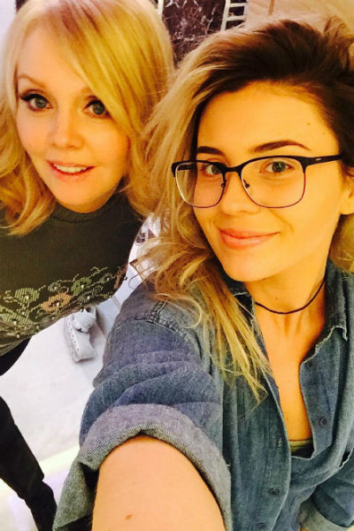 Валерия с дочерью Анной