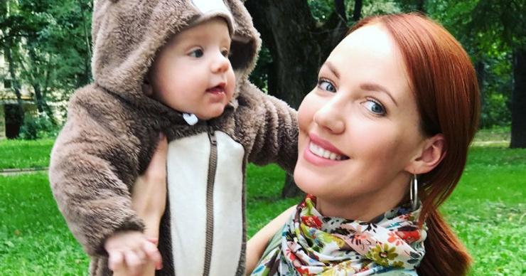 Галина Боб крестила младшего сына