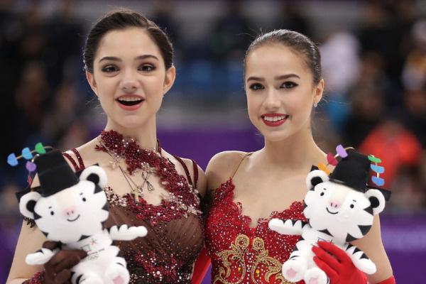 Алина и Евгения считаются главными соперницами со времен Олимпиады в Пхенчхане