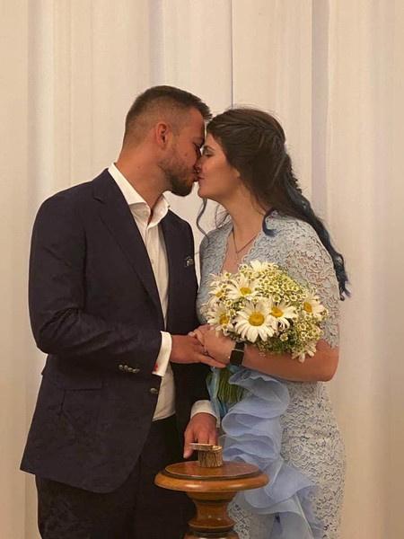 Свадьба Варвары и Олега была очень скромной
