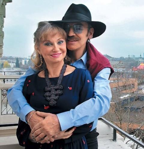 Михаил Боярский с супругой